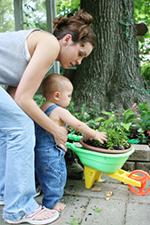 Le garage et le jardin - Accidents domestiques bébé